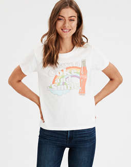 Ae Coke Graphic T Shirt by American Eagle Outfitters