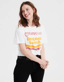 1af46205 placeholder image AE Maruchan Ramen Graphic Tee ...
