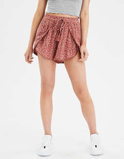 Ae High Waisted Tulip Shorts by American Eagle Outfitters