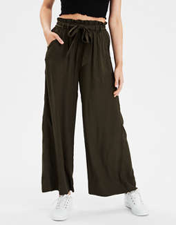 AE High-Waisted Paperbag Pant