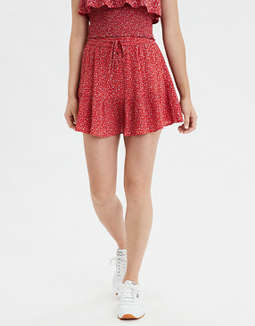 AE High-Waisted Printed Mini Skirt