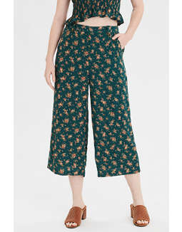 AE High-Waisted Button Front Pant