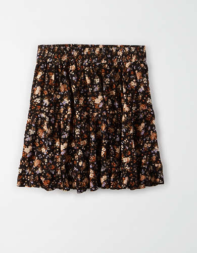 AE High-Waisted Tiered Mini Skirt
