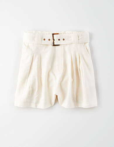 AE High-Waisted Belt Short