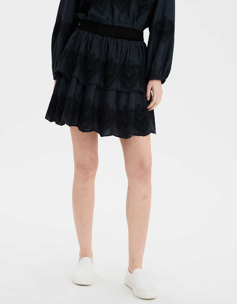 AE Tiered Mini Skirt