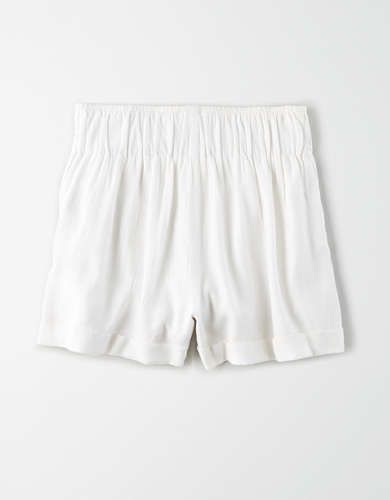 AE High-Waisted Button Front Short