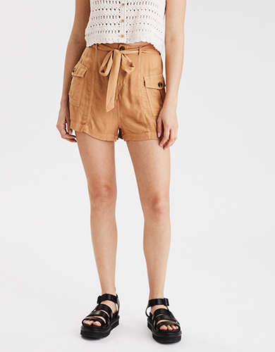 AE High-Waisted Cargo Pocket Short