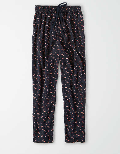 AE High-Waisted Printed Tapered Pant