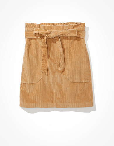 AE Paperbag Mini Skirt