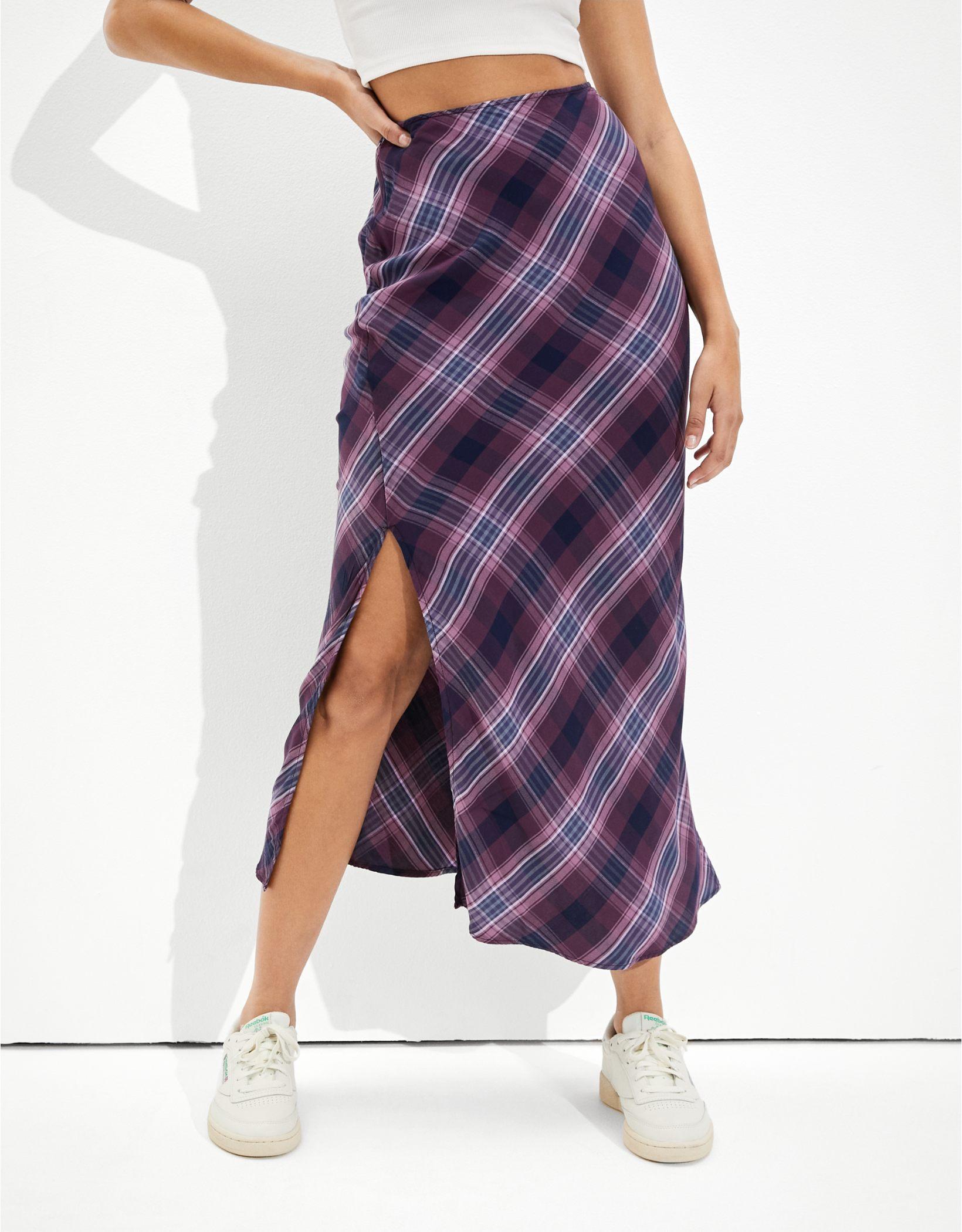 AE Slit Midi Skirt