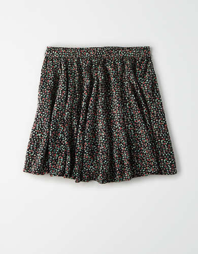 AE Floral Flutter Mini Skirt