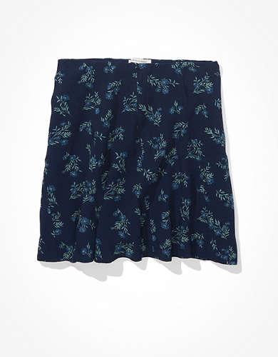 חצאית מיני גודה פרחונית AE