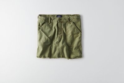 Hi-Rise Military Skirt