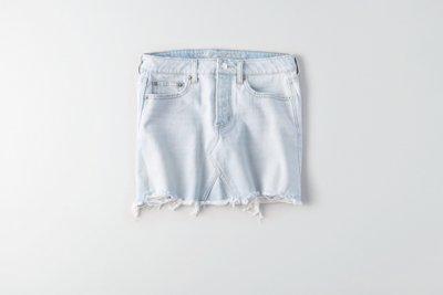Light Denim Vintage Hi-Rise Skirt