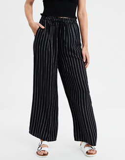 Ae High Waisted Palazzo Pants by American Eagle Outfitters