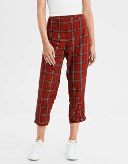 AE Plaid Taper Pant