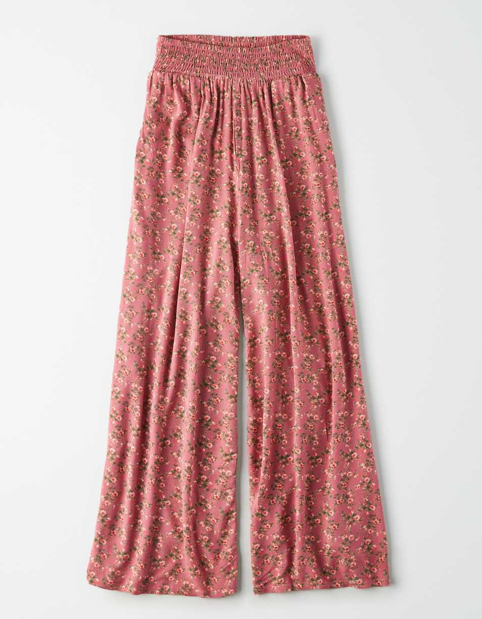 AE High-Waisted Wide Leg Pant