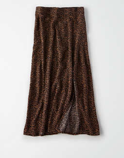 Ae Printed Midi Skirt by American Eagle Outfitters