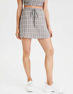 79636e89d placeholder image AE High-Waisted Plaid Skirt ...