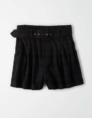 AE High-Waisted Belted Short