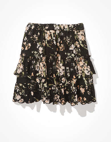 AE Ruffled Mini Skirt