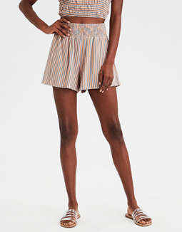 AE High-Waisted Knit Shorts