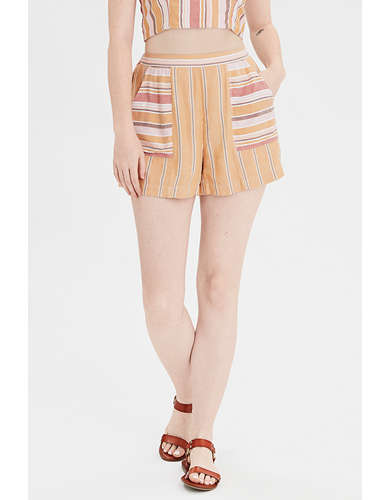 AE High-Waisted Striped Short
