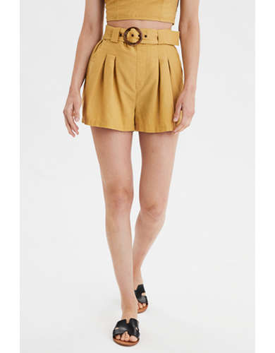 AE High-Waisted Paperbag Short