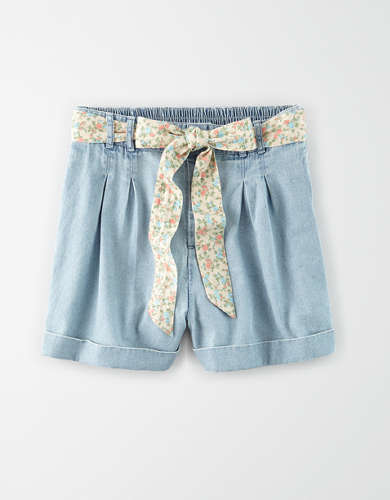 AE High-Waisted Denim Short