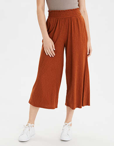 AE High-Waisted Knit Culotte