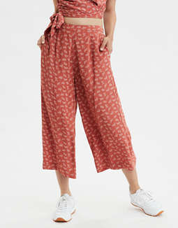 AE High-Waisted Printed Culotte