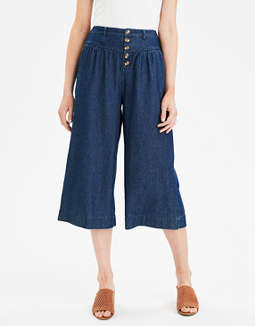 AE High-Waisted Button Up Pants