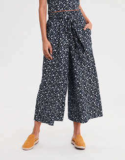 AE High-Waisted Wide Leg Pants