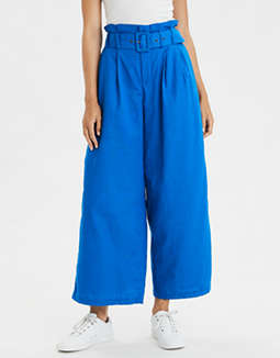 AE High-Waisted Belted Pant