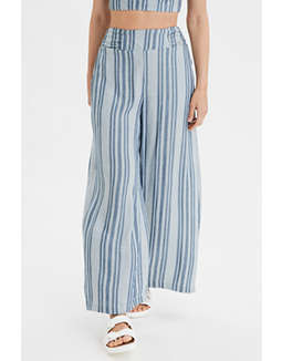 AE High-Waisted Tie Front Pant