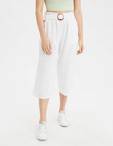AE High-Waisted Linen Culotte