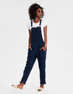 AE Striped Soft Overall