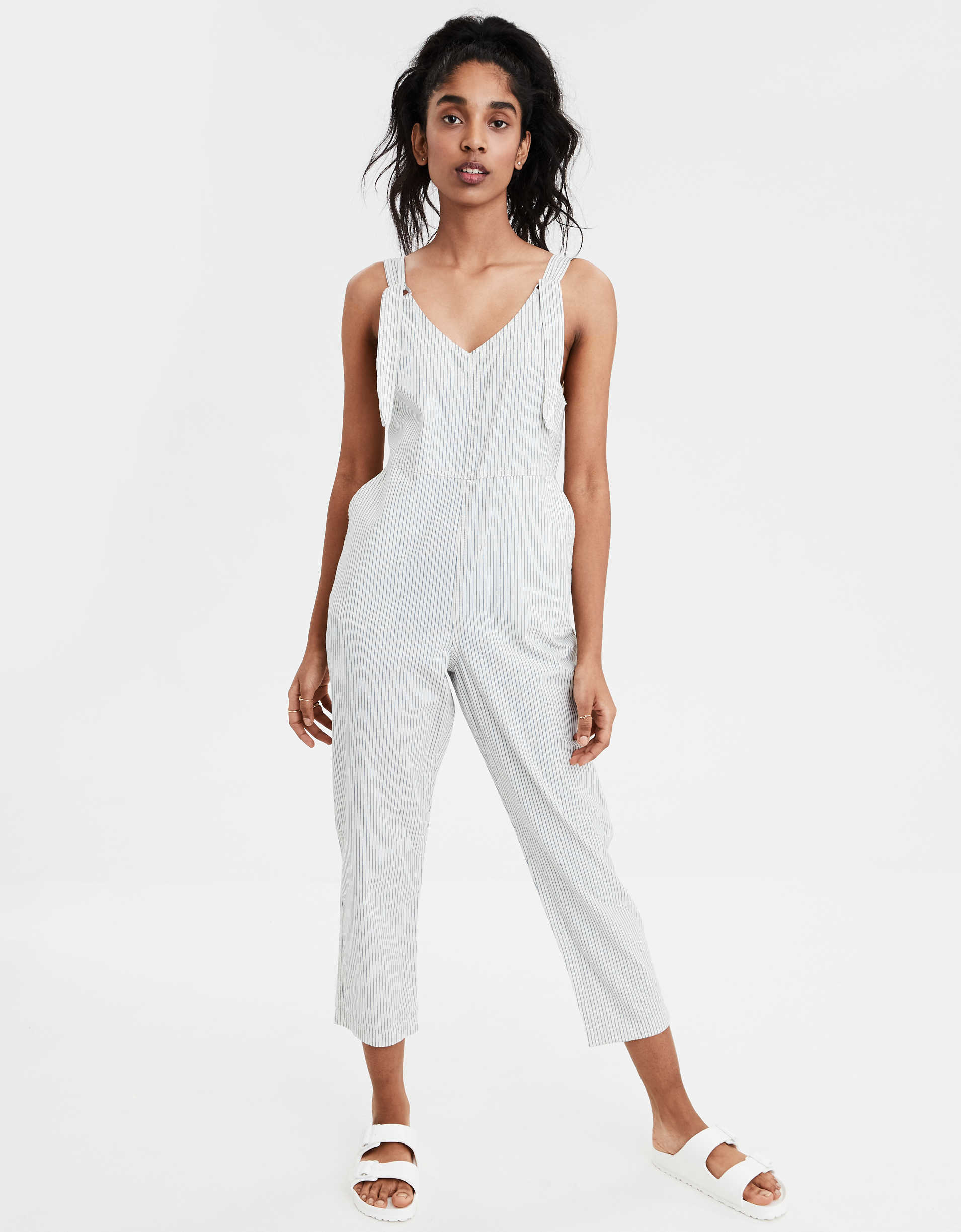AE Striped Tapered Soft Overall