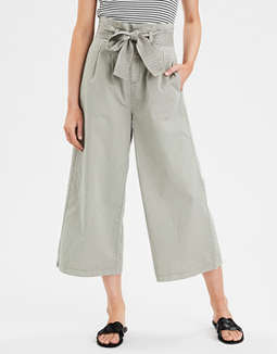 Highest Waist Paperbag Culotte