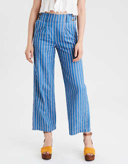 High-Waisted Culotte