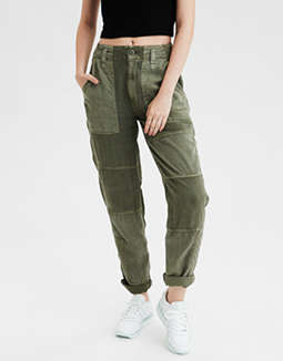 AE High-Waisted Utility Crop Pant