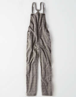 AE Plaid Soft Overall