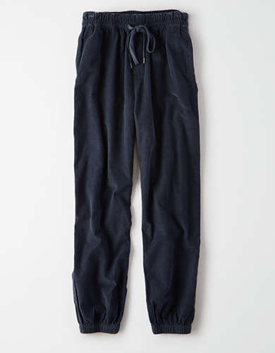 AE High-Waisted Corduroy Jogger Pant