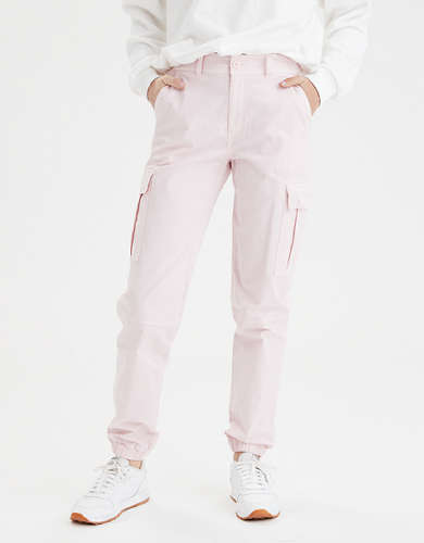 AE Super High-Waisted Cargo Jogger Pant