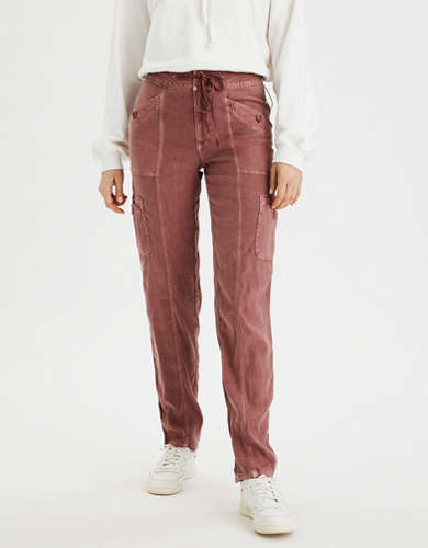 AE High-Waisted Cargo Taper Pant