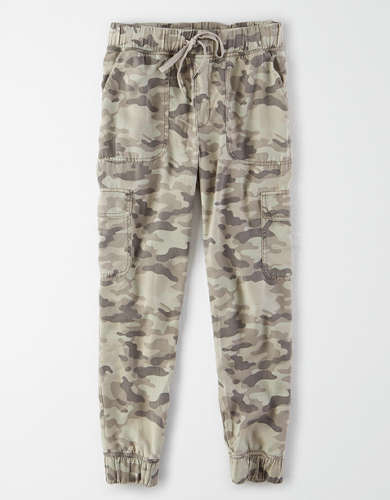 AE High-Waisted Camo Jogger Pant