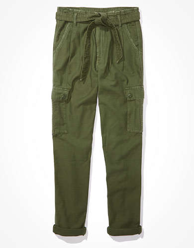 AE Super High-Waisted Relaxed Taper Pant