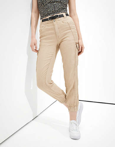 American Eagle AE Paperbag Jogger Pant
