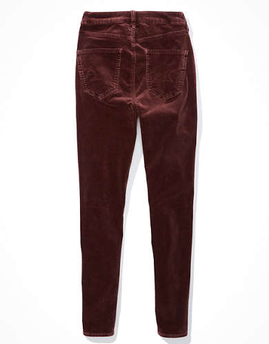 AE Curvy High-Waisted Corduroy Jegging