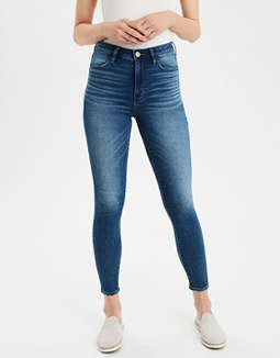 Ae Super Soft Super High Waisted Jegging Crop by American Eagle Outfitters